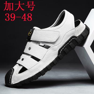 夏季新款男士凉鞋潮流大码45韩版男鞋户外休闲46特大号47凉鞋男48
