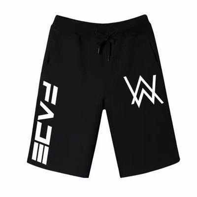 运动短裤男跑步健身夏季透气速干短裤宽松大码五分裤男大裤衩中裤