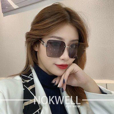 2020新款韩版墨镜女网红款偏光太阳镜女大脸显瘦时尚大牌潮男眼镜