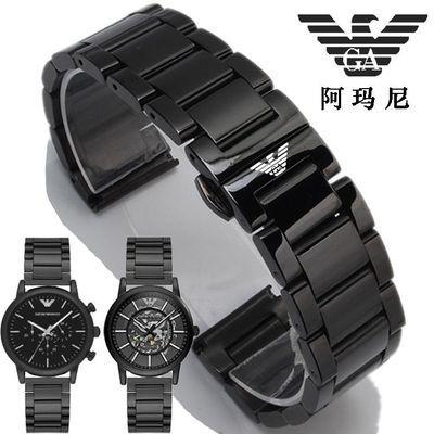 阿玛尼钢带男原装手表带AR1970|2461|1948|60012|1923|1973|1732