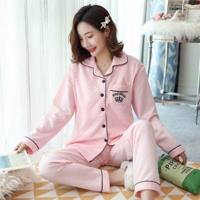 【今天发货】月子服春季夹层加厚产后孕妇睡衣女哺乳睡衣春秋套装