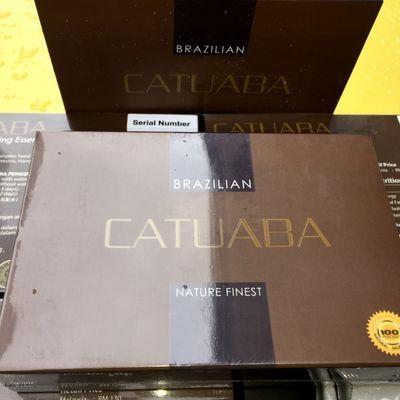 卡图巴进口马来西亚原装Catuaba/卡图巴男士保健养生正品整盒9包