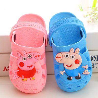 儿童凉鞋女2018夏季凉拖鞋一岁半1小孩2女孩包头3可爱男宝宝沙