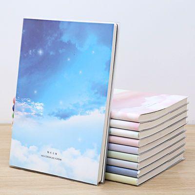 16k大号笔记本子加厚小清新学生胶套本B5可爱韩版日记本文具批发