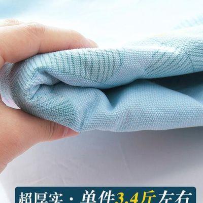 2020新款夏天100%纯棉粗布床单单件凉席棉麻亚麻帆布夏凉布夏季加