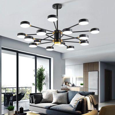 客厅吊灯简约现代2020年新款网红卧室创意餐厅北欧风格商铺灯具