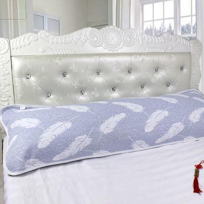 枕套双人枕套长款枕巾可爱一对情侣护颈枕套15m18米床