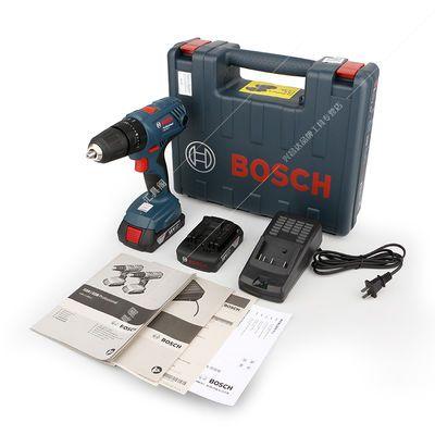 博世18V充电式手电钻GSB180-LI锂电家用冲击钻电钻充电电动螺丝刀