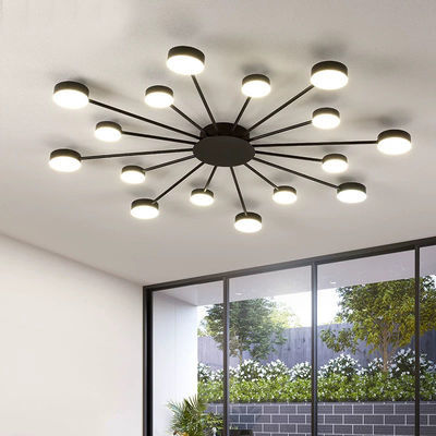北欧大气轻奢客厅吸顶灯现代简约创意个性圆形艺术餐厅主卧室灯具