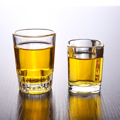 买一套送一套12只无铅钢化玻璃杯套装耐热水杯白酒杯烈酒杯啤酒杯