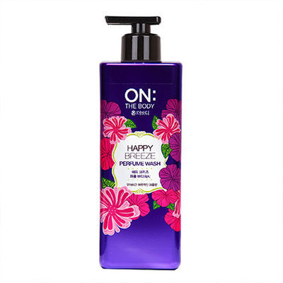 韩国进口正品LG ON 香水沐浴露持久留香美白滋润保湿补水温和花香