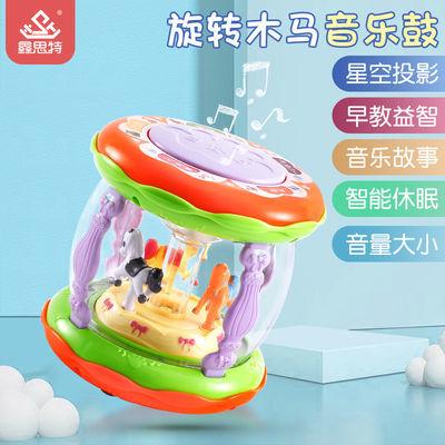 鑫思特宝宝手拍鼓音乐电动拍拍鼓婴儿童早教益智故事机0-6岁玩具