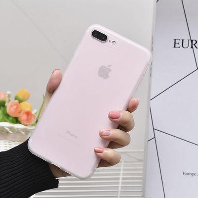 苹果7plus/11/x/6s透明磨砂手机壳iPhonexr/xsmax全包8防摔软5s套