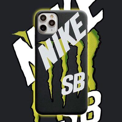 王一博同款SB魔爪nike适用iPhone11ProMax苹果XR/8plus手机保护壳