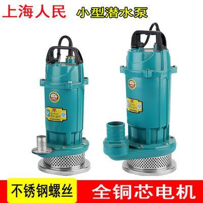 上海人民1寸2寸3寸4寸大流量潜水泵灌溉排涝抽水泵抽水清水泵家用