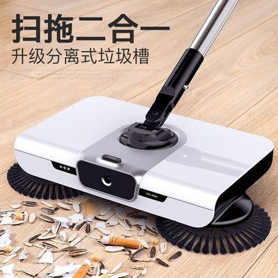 扫地机手推式扫把簸箕套装家用笤帚刮水拖地刮一体机器人扫帚神器