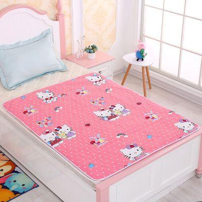 现货大中小号儿童隔尿防水纯棉四季可用防漏姨妈月经护理可洗床垫
