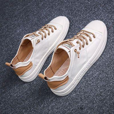 男鞋2020夏季新款韩版潮流时尚百搭男士休闲板鞋帆布鞋小白鞋子男