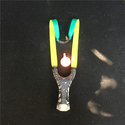 新品扁皮水晶弹弓八棱成人户外竞技高精准新手易学弹弓包邮