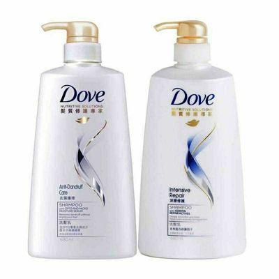 正品多芬洗发水680ml深层修护去屑止痒护理持久留香家庭装洗发膏