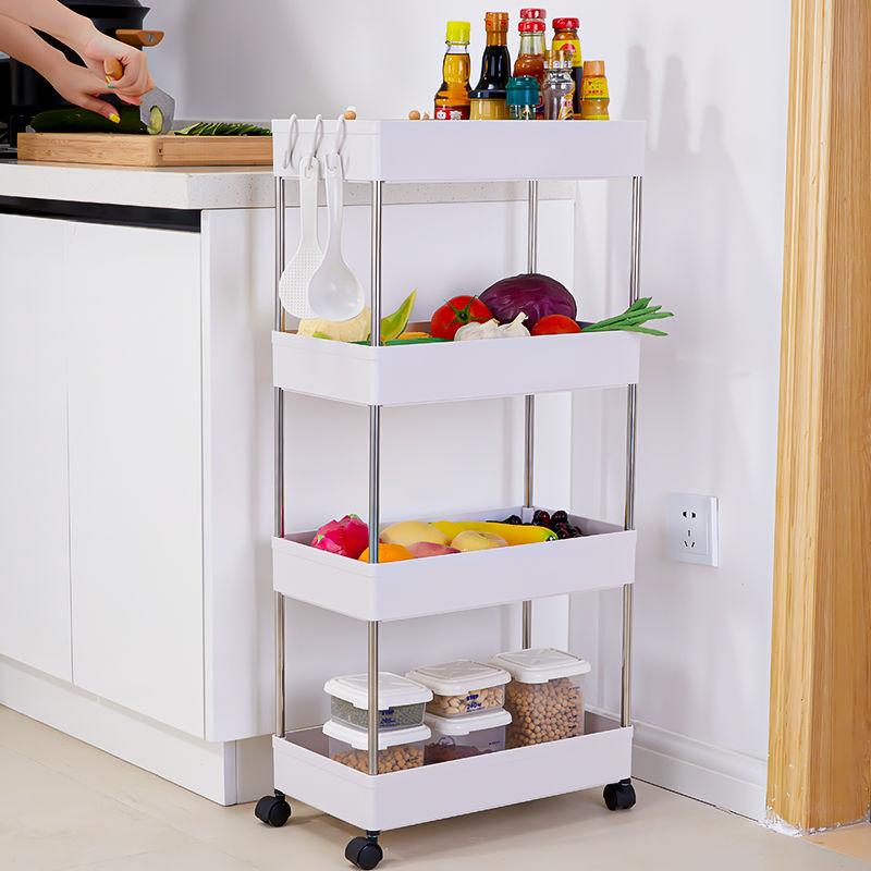 厨房置物架落地式多功能多层浴室洗澡间卫生间厕所调料整理收纳架