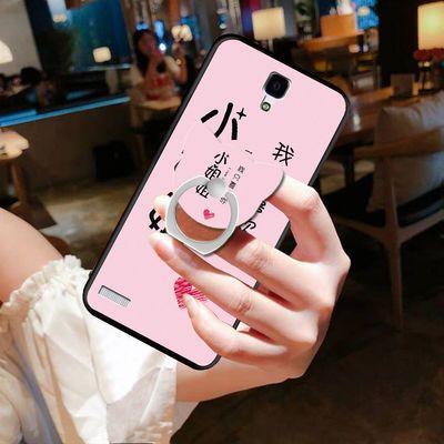 红米note1手机壳hmnote1s手机壳note1lte手机套硅胶软防摔女创意