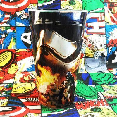 原单 starwars星球大战白兵帝国冲锋队钢化玻璃杯水杯饮料杯礼物