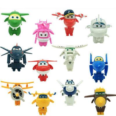 超级飞侠玩具全套14只大号乐迪多多小爱可变形机器人儿童玩具套装