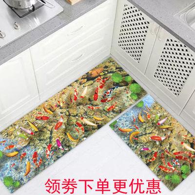 厨房地垫  防滑吸水地垫  门口脚垫卧室床边长条地垫浴室门垫地毯