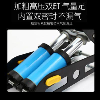 脚踩高压打气筒自行车汽车用家用充气泵小轿车用电瓶车摩托打气泵