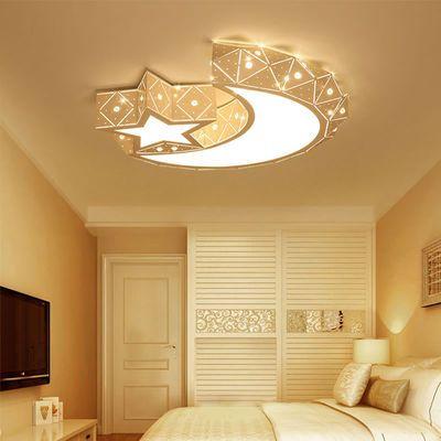 led灯具灯饰卧室灯温馨吸顶灯套餐客厅灯简约圆形房间灯儿童房灯