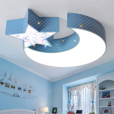 led吸顶灯创意个性儿童灯温馨浪漫婚房现代简约大气客厅主卧室灯