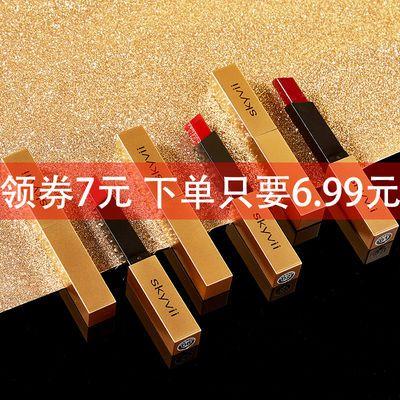 【女神必入】小金条口红网红同款不易掉色滋润不沾杯防水彩妆套装