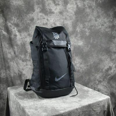 欧文运动健身双肩包男女学生书包大容量独立鞋位篮球登山旅行潮牌