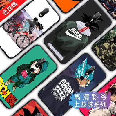 诺基亚x6手机壳nokiax6七龙珠卡通孙悟空超薄全包软边磨砂防摔潮