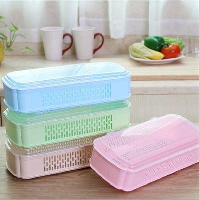 筷子盒带盖沥水餐具收纳盒餐馆饭店刀叉勺子收纳筷子笼家用筷子盒