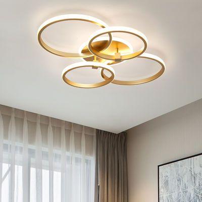 客厅灯简约现代大气led吸顶灯2020年新款灯具 主卧室创意高档灯饰