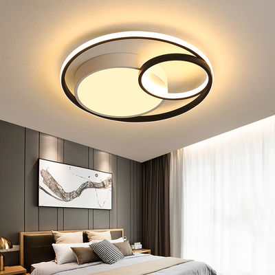 led吸顶灯具主卧室灯温馨现代简约儿童房灯家用创意个性房间吸灯