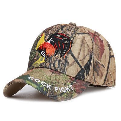男士户外迷彩棒球帽休闲遮阳帽子刺绣鸭舌帽军迷时尚运动丛林帽子