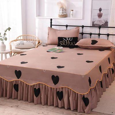 俊希家纺  公主床裙床罩单件床盖床笠席梦思保护套1.0/1.8/2.0米