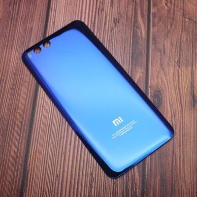 小米6后盖原装玻璃手机后壳替换mi6后盖小米六钢化陶瓷电池后盖壳