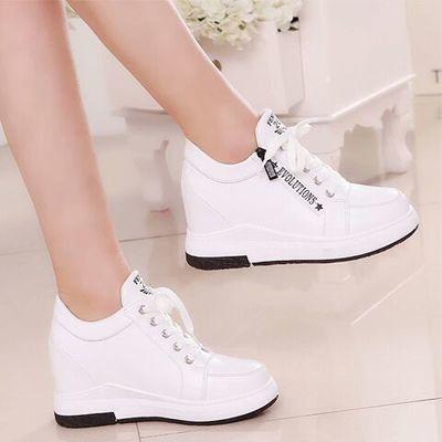 内增高小白鞋女2020春季最新款韩版百搭厚底休闲运动鞋女士单鞋潮