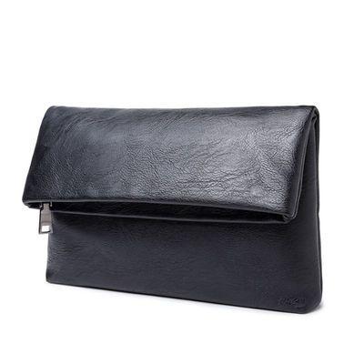 2020新款时尚女士折叠款手拿包商务休闲手抓包潮流手拿包韩版手包