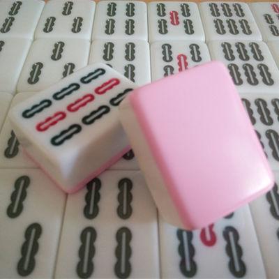 包邮送礼 大码家用手打麻将牌 中大号手搓麻将牌 42 44大号麻将