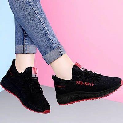 春季新款老北京休闲布鞋女运动软底百搭学生跑步鞋防滑底妈妈鞋