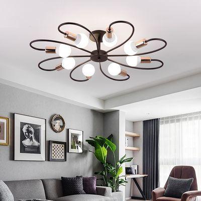led吸顶灯客厅灯房间灯餐厅家用室内北欧创意个性简约现代卧室灯