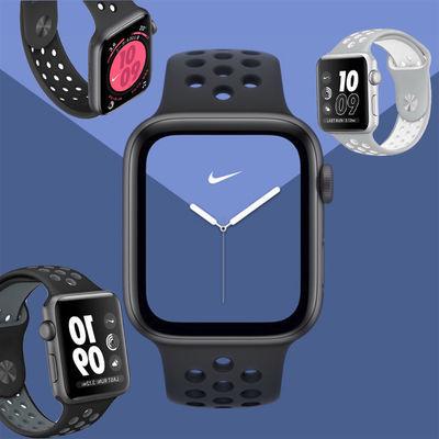 全新原装苹果apple watch耐克Nike运动表带 正品 原装,