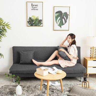 可折叠懒人多功能出租房布艺沙发两用简易小户型单双人客厅沙发床