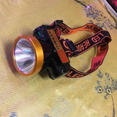 超亮强光led头灯锂电池充电式头戴电筒防水夜钓夜骑照明远射矿灯