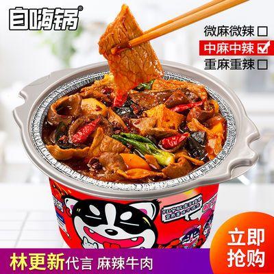 自嗨锅麻辣牛肉小火锅螺蛳粉酸辣粉懒人林更新明星同款自热煮方便
